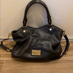 Large Black Leather handbag